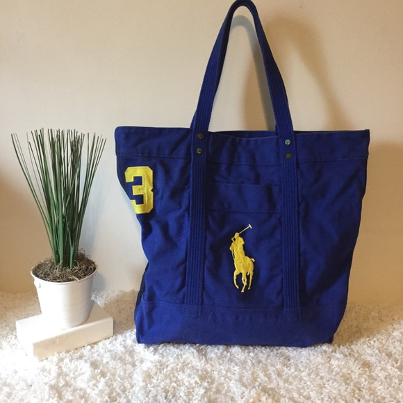Polo by Ralph Lauren XL tote bag big pony. M 5b896f0d283095b0916d9eae 64576bca65